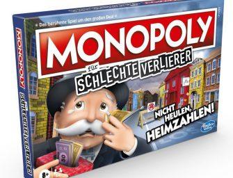 """Wir spielen analoges """"MONOPOLY für schlechte Verlierer"""""""